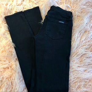 Black Denim Skinny Jeans Size 0